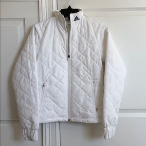 New vintage Adidas quilted bomber puffer jacket